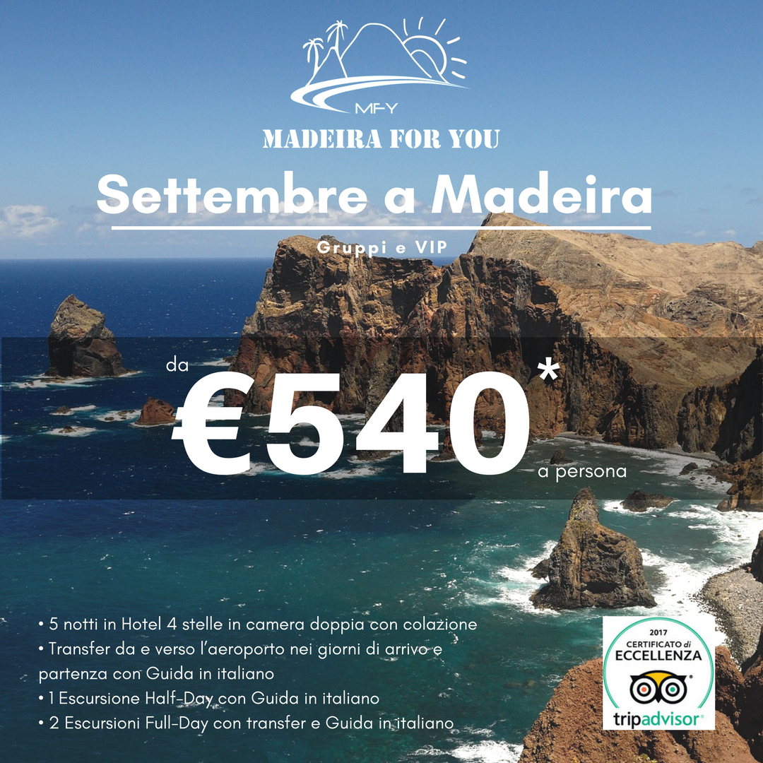 Settembre a Madeira post